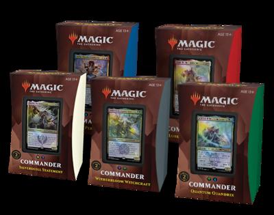 Strixhaven Commander Decks - Set of all 5
