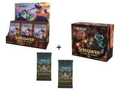 Strixhaven Set Booster Box + Bundle + 2 Collector Packs - BONUSPACK