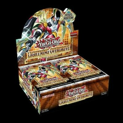 Lightning Overdrive Booster Box - BONUSPACK