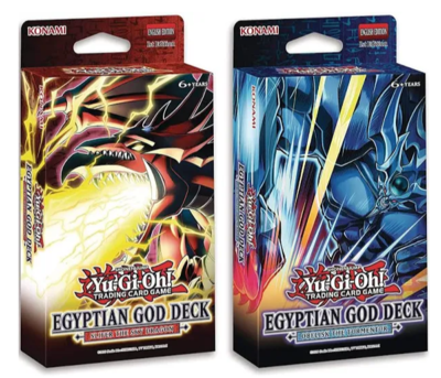 Egyptian God Decks: Slifer the Sky Dragon and Obelisk the Tormentor