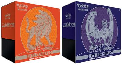 Pokemon Sun & Moon Elite Trainers - Solgaleo & Lunala