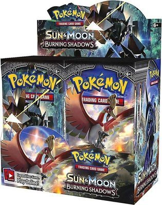Pokemon Sun & Moon Burning Shadows Booster Box - BONUSPACK