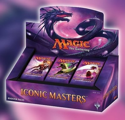 Iconic Masters Booster Box - BONUSPACK