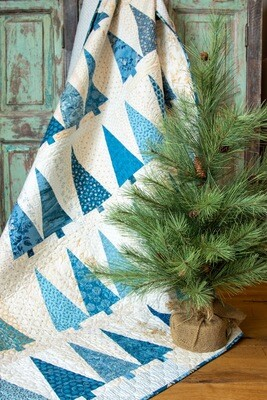 Pinehurst Fabric Kit - BLUE