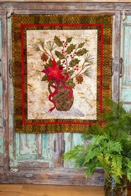 Poinsettia Fabric Kit