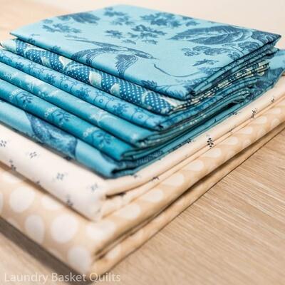 Sky and Sea Fabric Kit - BLUE