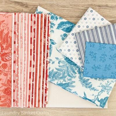 Sweet Mint Fabric Kit - Blue