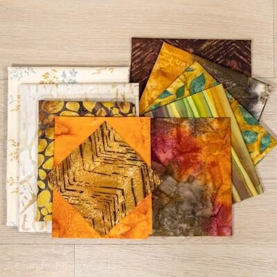 Fall Memories Table Runner Fabric Kit