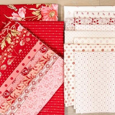 Cranberry Chain Fabric Kit