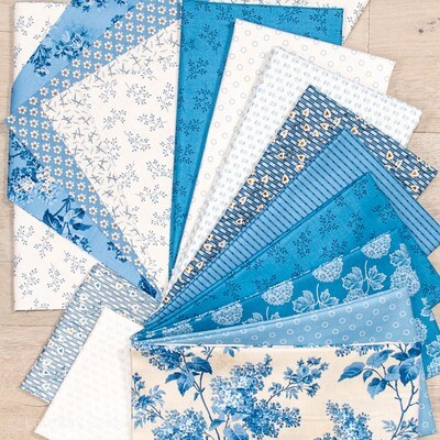 Winter Village Fabric Kit