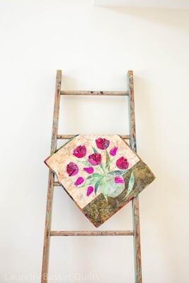 Tulips Wall Hanging Fabric Kit