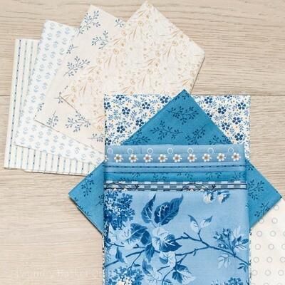 Winter Village Table Runner Fabric Kit