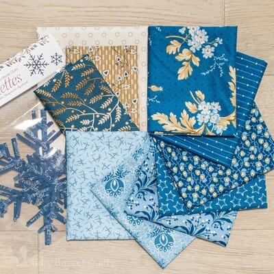Pines Fabric Kit - Blue