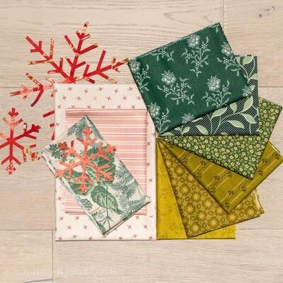 Pines Fabric Kit - Green