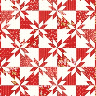 Sky and Sea Fabric Kit - RED