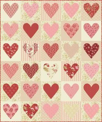 Sweetheart Fabric Kit