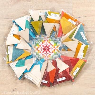 Alaska RAINBOW LT PRE-CUT Fabric Kit