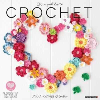 2021 It's a Good Day to Crochet Wall Calendar