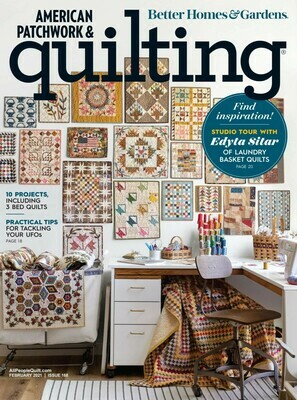 American Patchwork & Quilting February 2021 - LBQ Studio