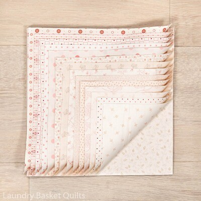 """Touch of Pink Layer Cake - 10"""" squares"""