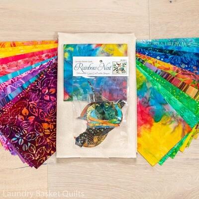 Rainbow Nest Fabric Kit
