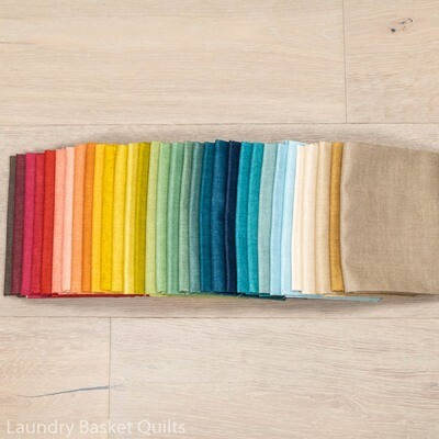 Linen Texture II Fat Quarter Bundle