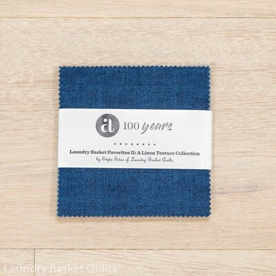 """Linen Texture II Charm Pack - 5"""" squares"""