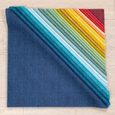 """Linen Texture II Layer Cake - 10"""" squares"""