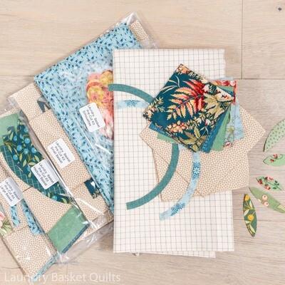Laundry Baskets PRE-CUT Fabric Kit