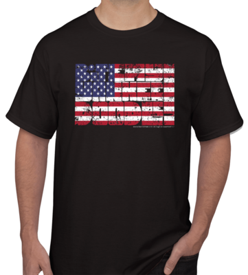 Bite My Yankee Doodle :: Unisex 100% Cotton T-shirt