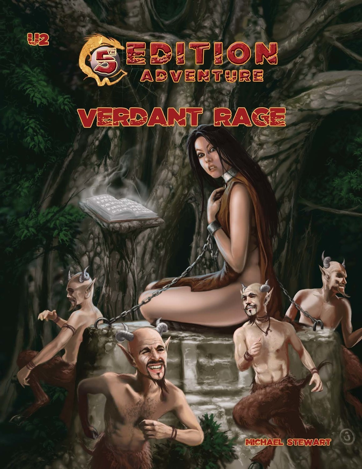 5th Edition: U2 Verdant Rage Print Plus Digital