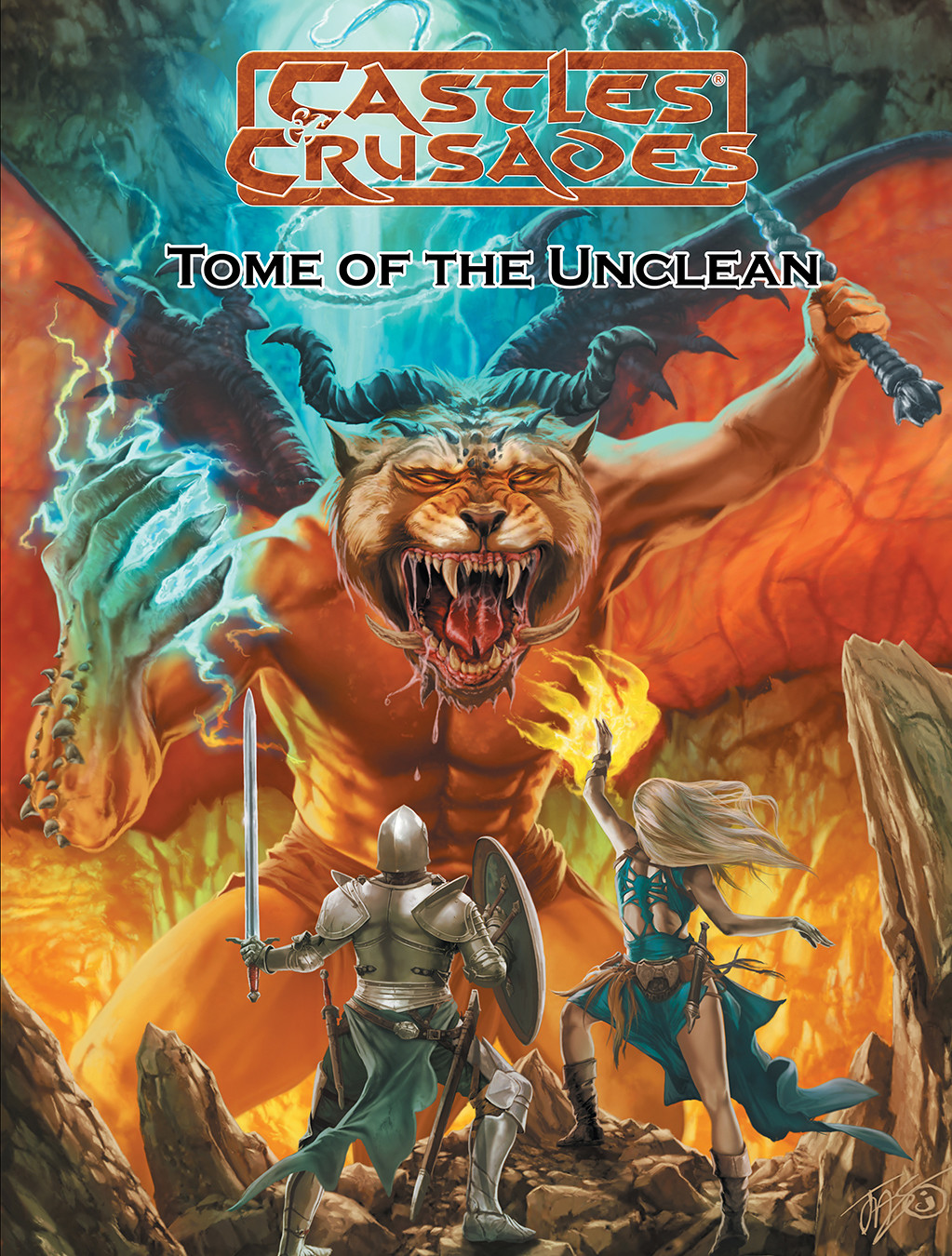 Castles & Crusades Tome of the Unclean -- Print & Digital