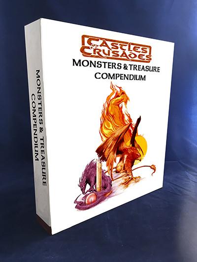 Castles & Crusades Monsters & Treasure Binder w/book & PDF