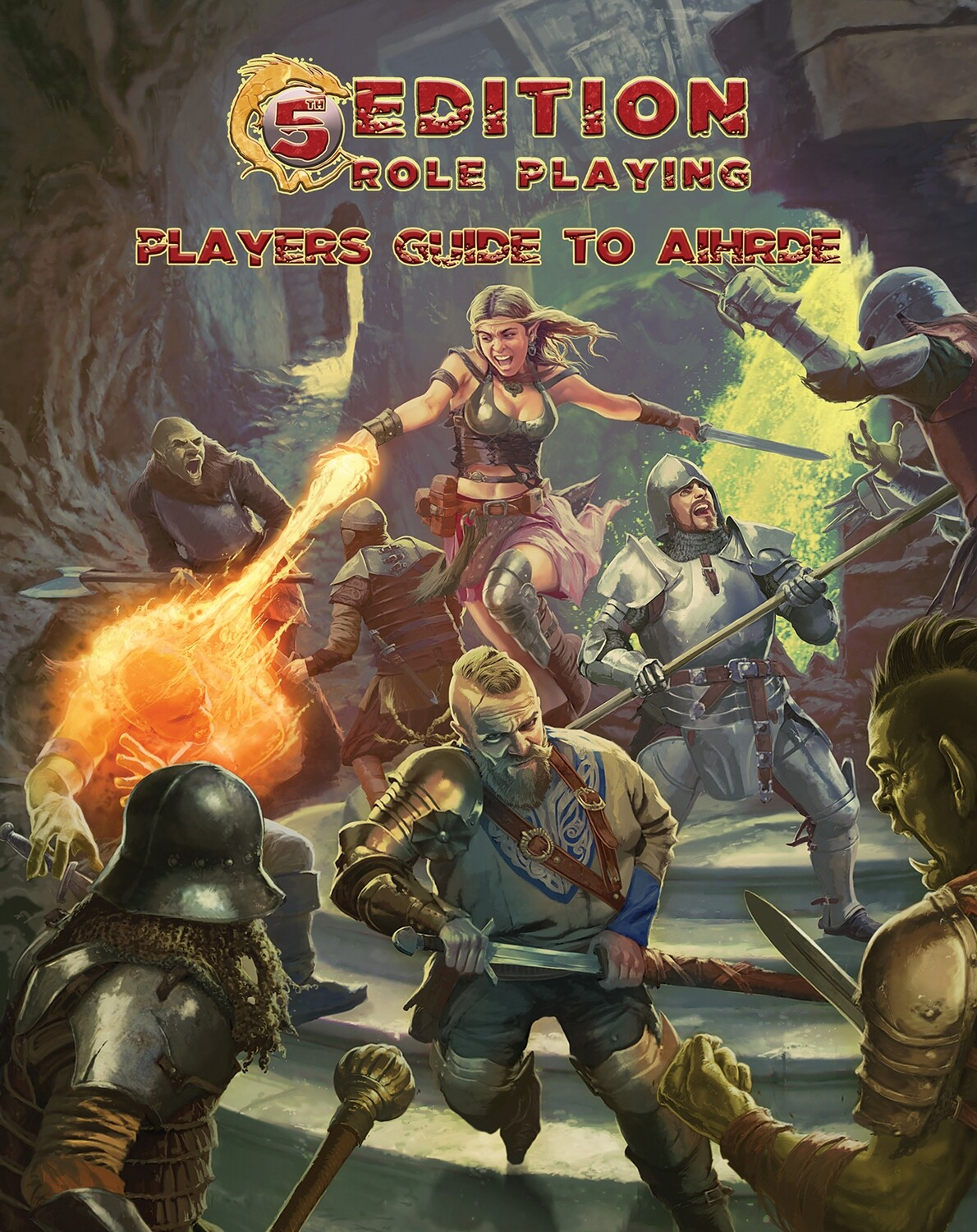 5th Edition: Players Guide to Aihrde Digital