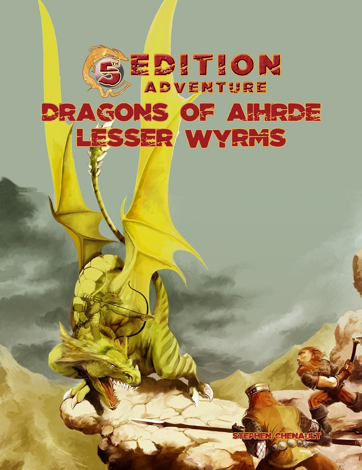 5th Edition: Dragons of Aihrde: Lesser Wyrms D