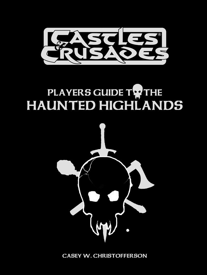 Castles & Crusades Players Guide to the Haunted Highlands -- Leather
