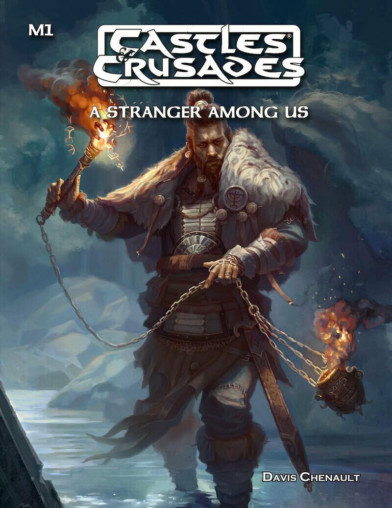Castles & Crusades M1 A Stranger Among Us -- Digital