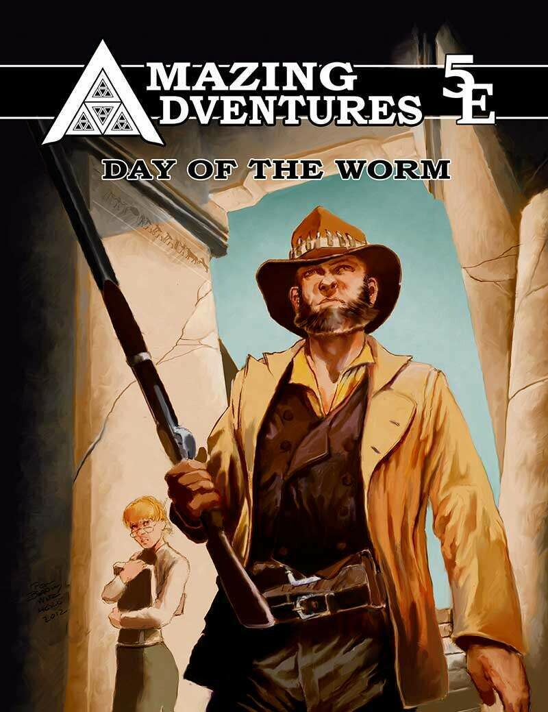 Amazing Adventures 5E Day of the Worm Print plus Digital