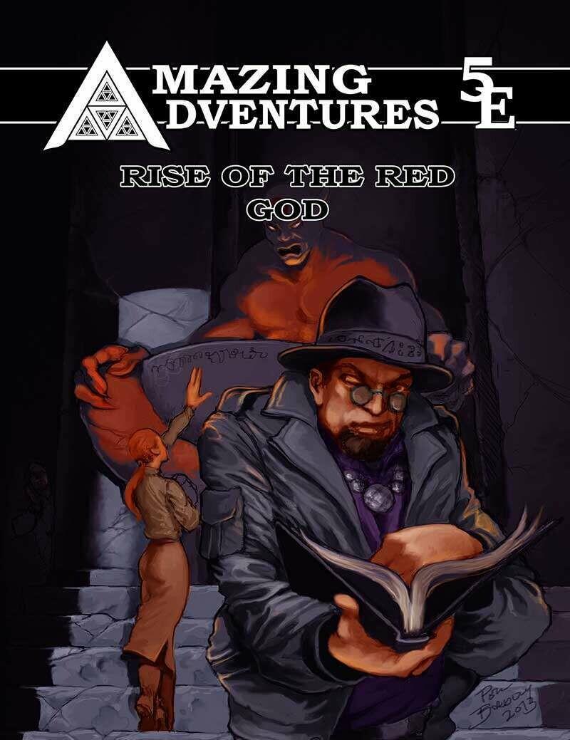 Amazing Adventures 5E Rise of the Red God Print plus Digital