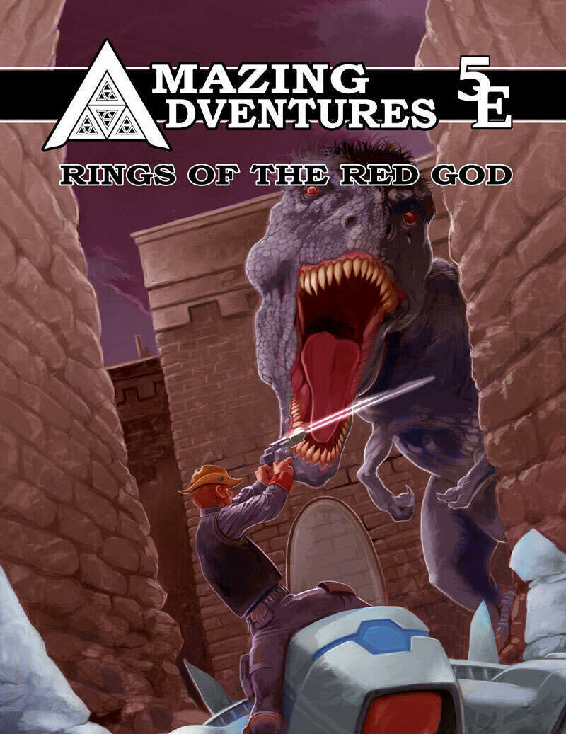 Amazing Adventures 5E Rings of the Red God