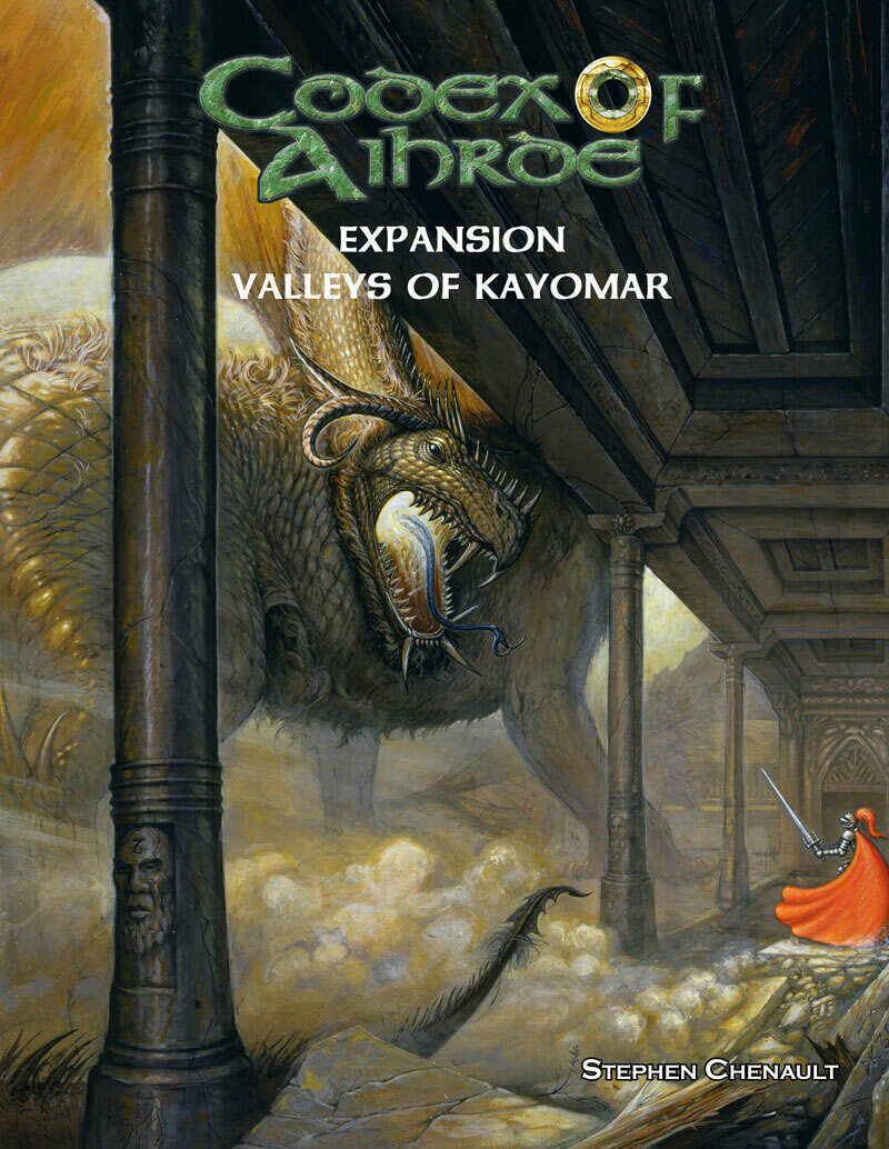 Codex of Aihrde Expansion:  Valleys of Kayomar Print plus Digital