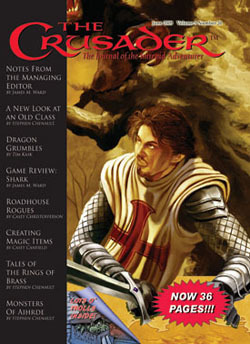 Crusader Journal #20 -- X