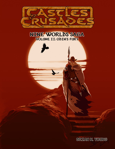Castles & Crusades Nine Worlds Saga Volume II: Odin's Fury PD