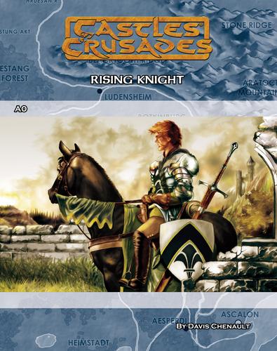 Castles & Crusades A0 Rising Knight Digital