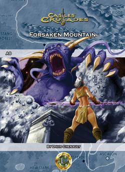 Castles & Crusades A8 Forsaken Mountain D