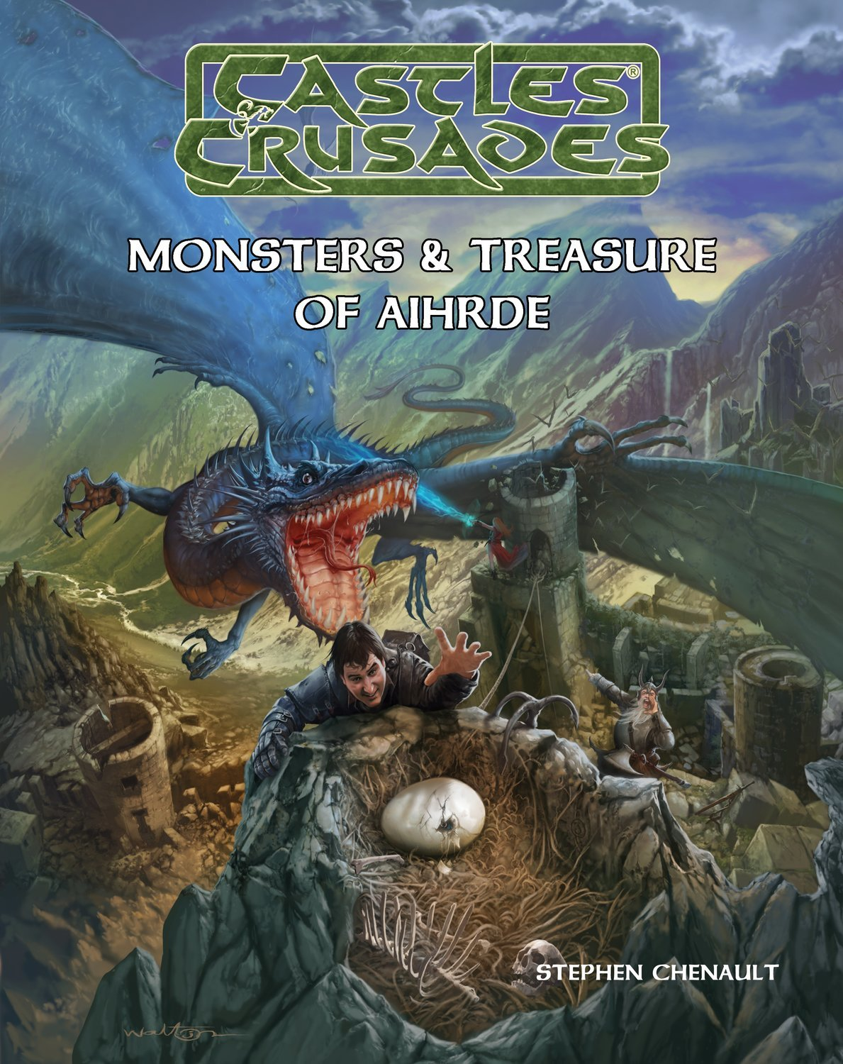 Castles & Crusades Monsters & Treasure of Aihrde Digital