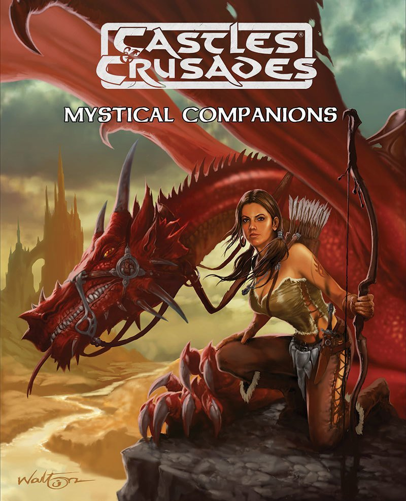 Castles & Crusades Mystical Companions -- X --Damaged