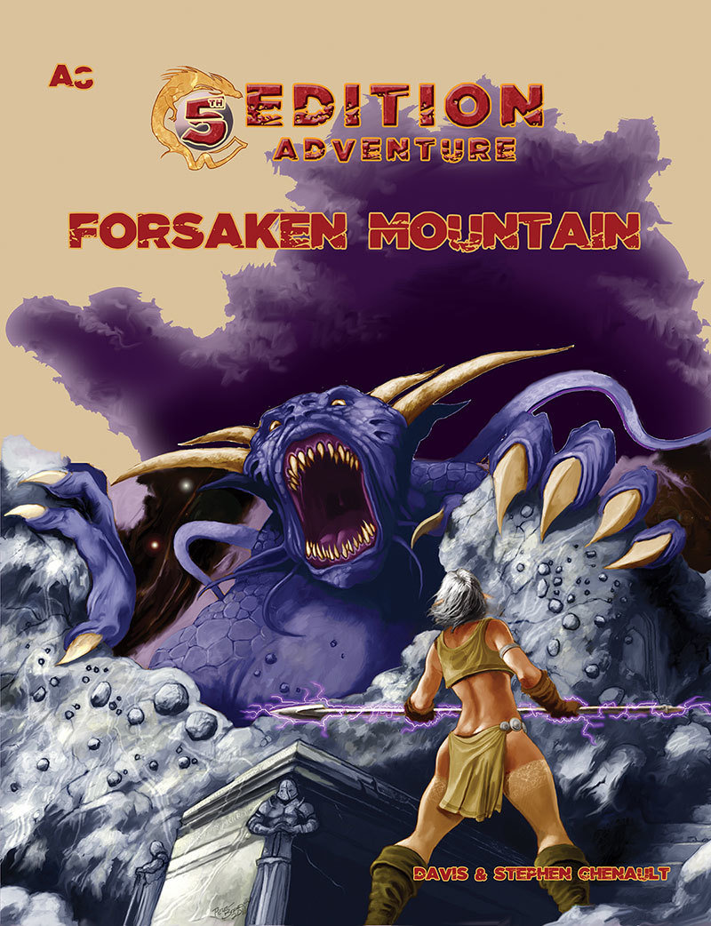 5th Edition: A8 Forsaken Mountain