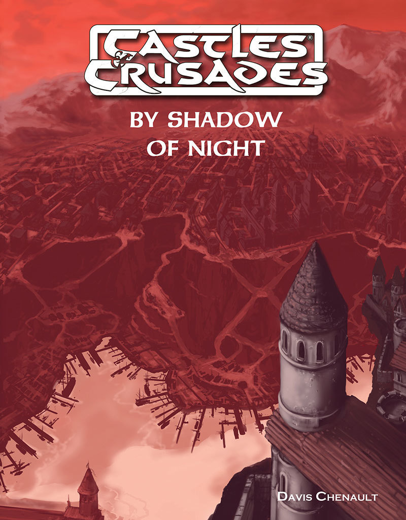 Castles & Crusades D2 By Shadow of Night Print