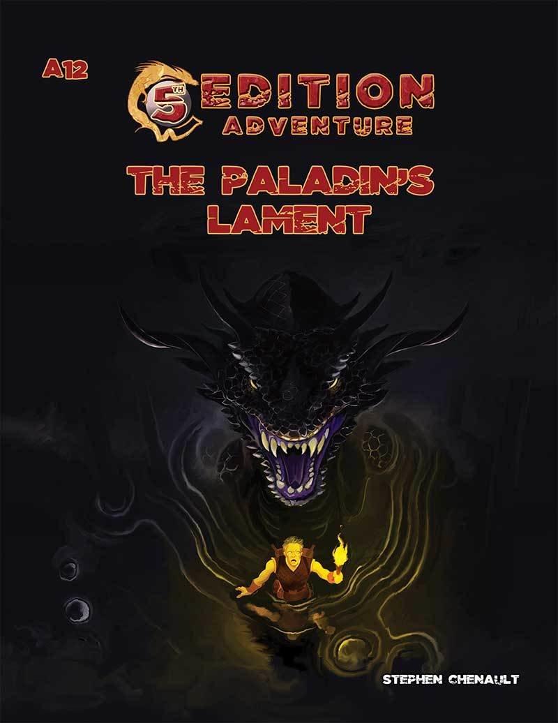 5th Edition: A12 The Paladin's Lament -- Print + Digital